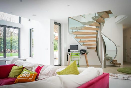 5 Unique Materials To Use For Your Spiral Staircase
